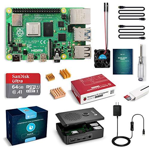 Raspberry Pi 4 model B (4GB) z akcesoriami kit