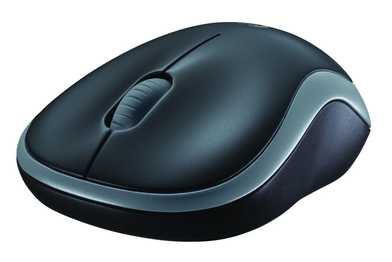 Logitech M185 Wireless Mouse - Grey