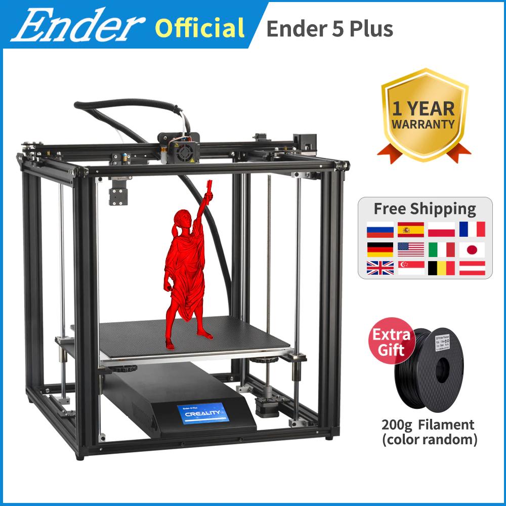 Drukarka 3d Ender 5S (szklany stół) $296.50