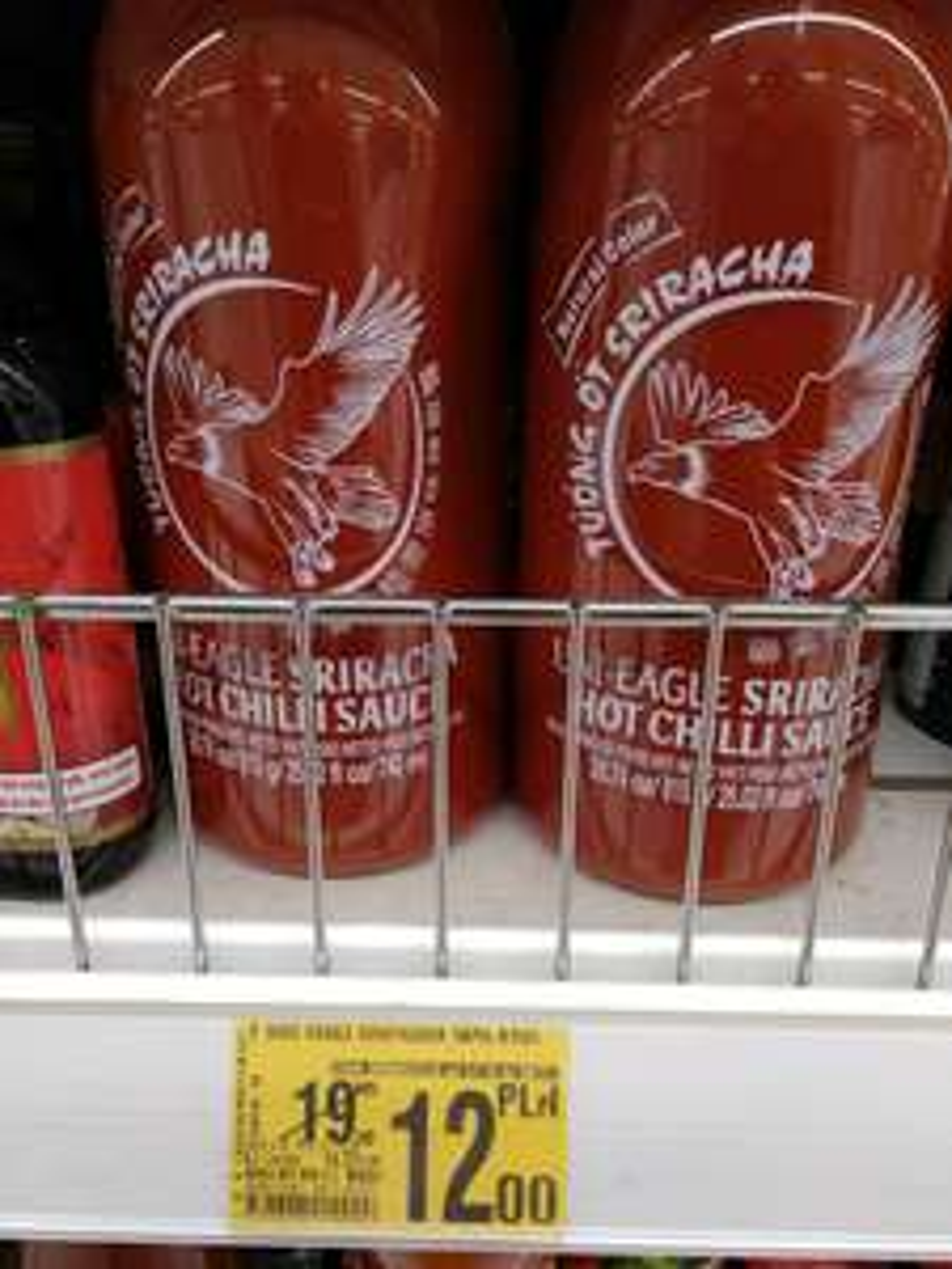 Sos Sriracha 740 mln Auchan