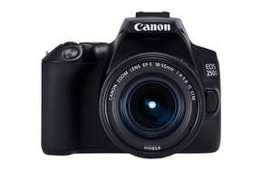 Canon Eos 250D z 18-55mm IS STM