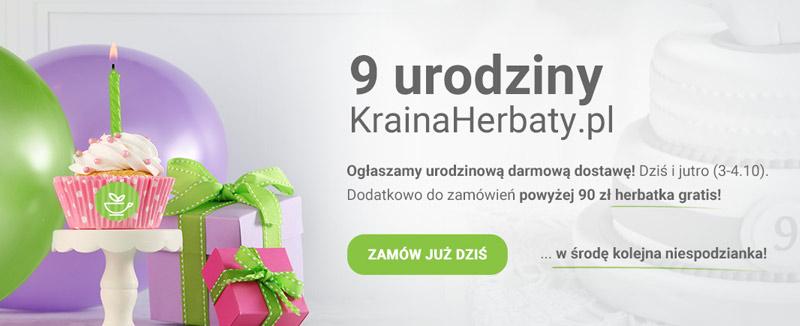 Kraina Herbaty, darmowa dostawa 3-4.10