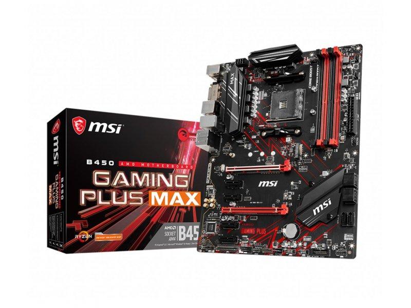 Płyta główna AM4 MSI B450 GAMING PLUS MAX