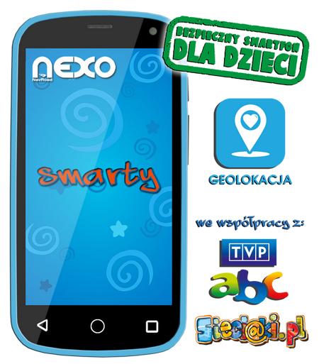 Navroad NEXO Smarty niebieski za 189PLN (przecena z 299PLN) @ Komputronik