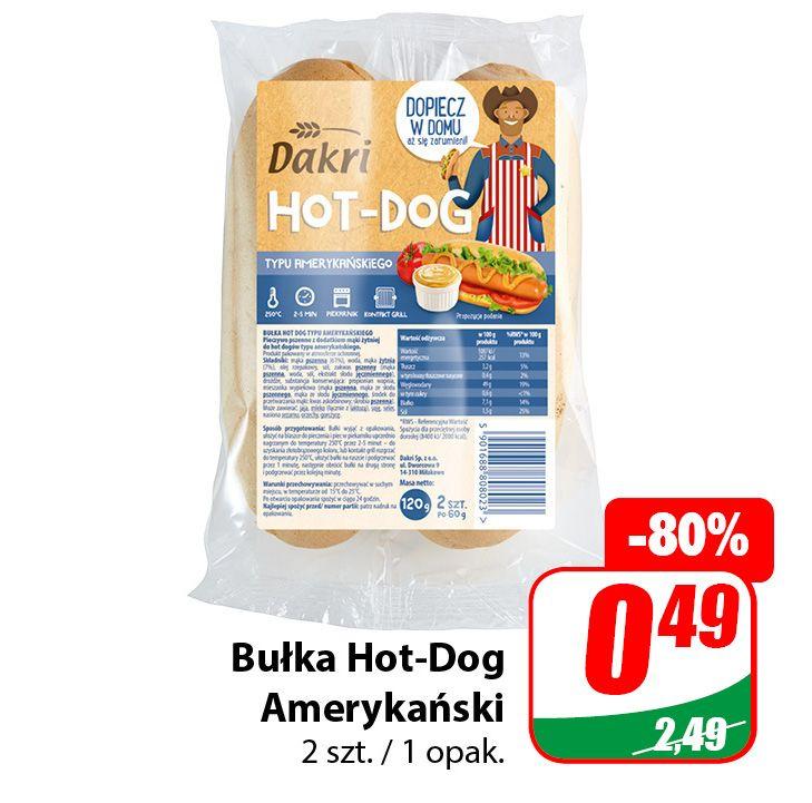 Bułka Hot-Dog Amerykański - DINO