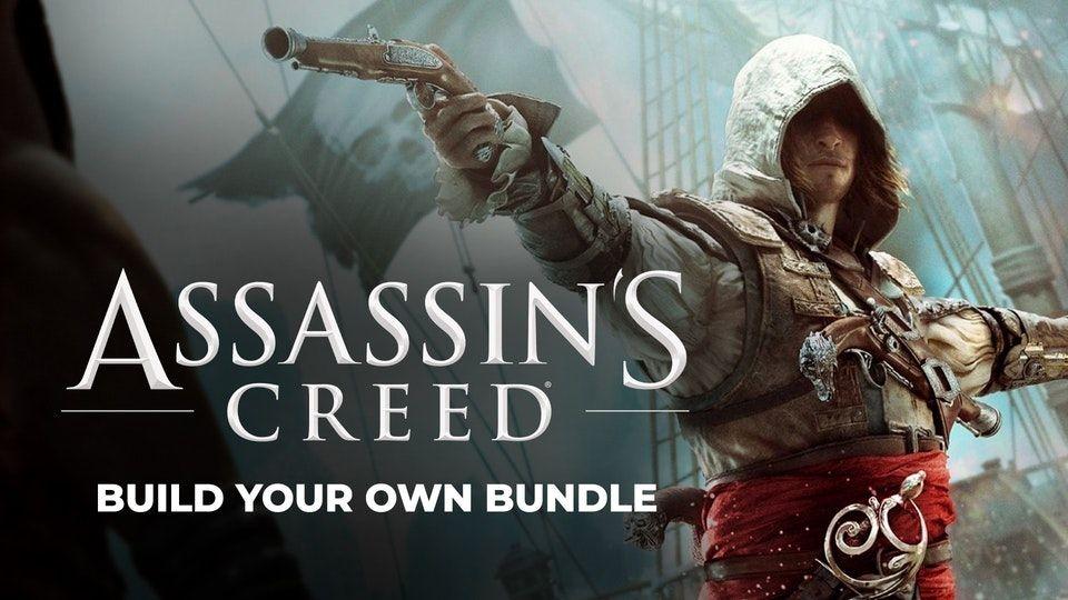 Build your own Assassin's Creed Bundle z 10 grami do wyboru od 43,98 zł
