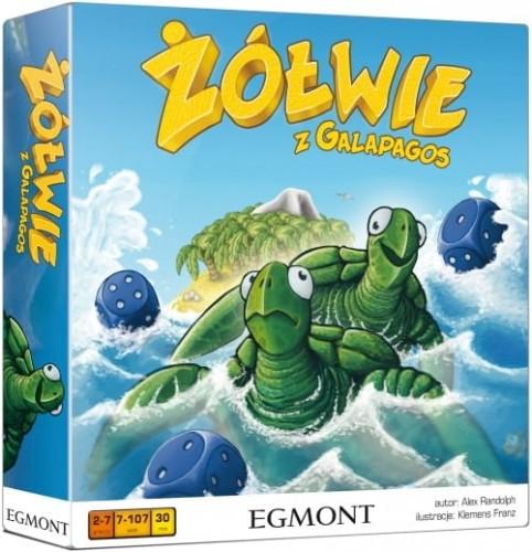 Żółwie z Galapagos - gra planszowa