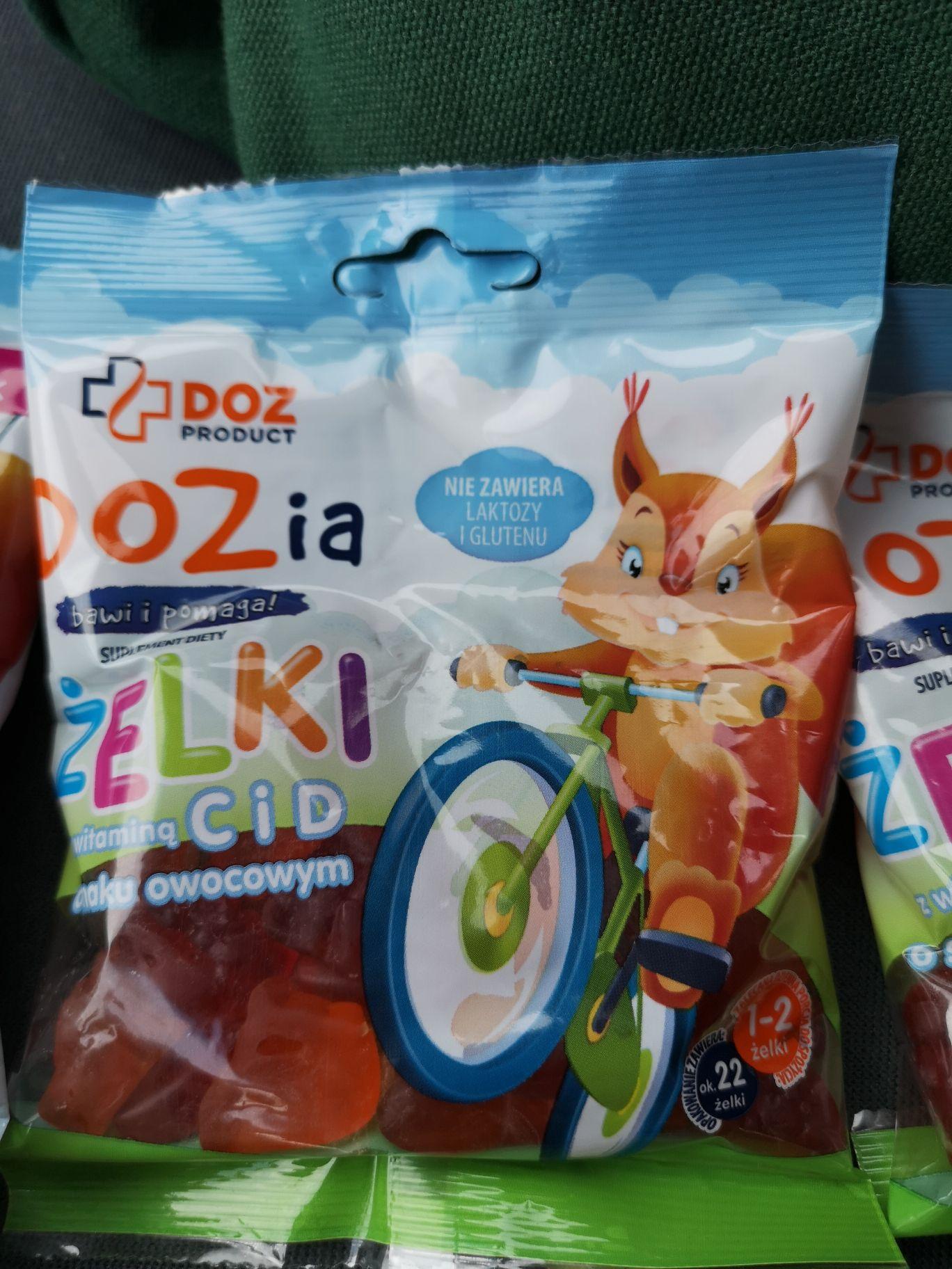 Żelki owocowe z witaminami dla dzieci apteka @DOZ (Szczecin)