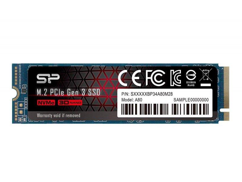 Dysk Silicon Power 512GB M.2 PCIe NVMe A80 na x-kom