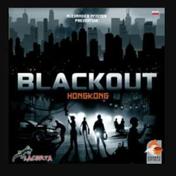 Gra planszowa Blackout Hongkong