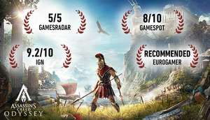 Assassin Creed Odyssey Standard, Delux, Gold, Ultimate Edition - 67% na Steam