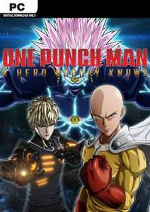 [PC] One Punch Man: A Hero Nobody Knows Steam Key @CDKeys