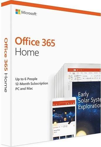 Office 365 home premium dla 6 użytkowników 249/rok