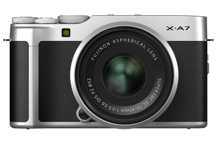Fujifilm X-A7 z ob 15-45mm