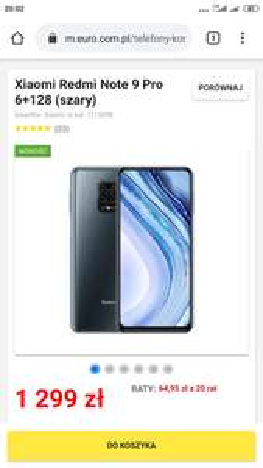 Xiaomi Redmi Note 9 Pro 6+128