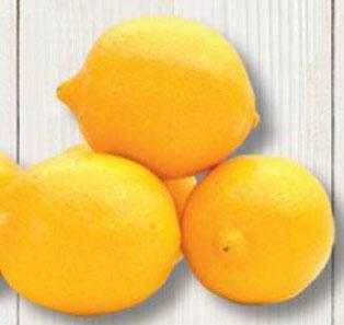 Cytryny w Biedronce za 4,99/kg