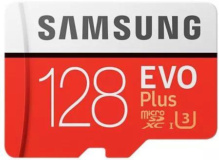 SAMSUNG Evo Plus microSDXC 128GB C10