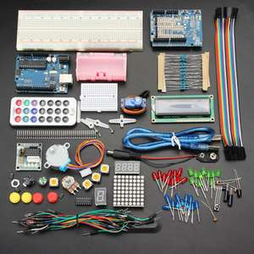 Geekcreit UNOR3, podstawowy starter kit bez baterii dla arduino. Działa z oficjalnymi płytkami Arduino