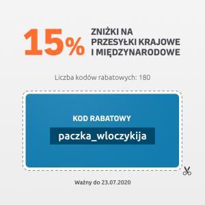 -15% na furgonetka 180 kodów do 23.07.2020