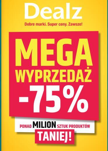 Wyprzedaż do -75% taniej @Dealz