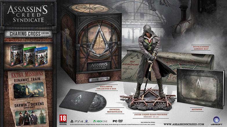 Assassin's Creed Syndicate - Edycja Charing Cross za ok. 129zł (PS4, XBOX ONE) @ Uplay shop
