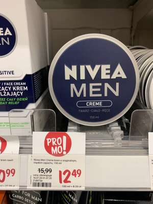 Krem Nivea MEN 150ml Rossmann