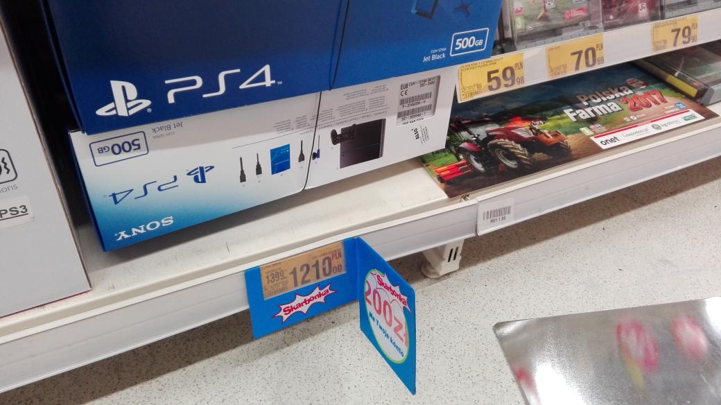 PS4 500GB cuh-1216a auchan