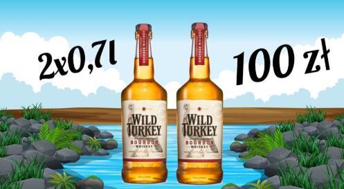 2x Wild Turkey Burbon 0,7l, Wild Turkey Rare Breed, Wild turkey Rye, Wild Turkey 101 (Szczyrba alkohole)