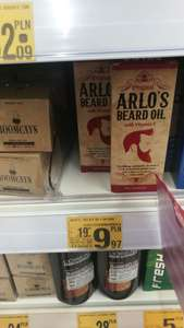 ARLO'S BEARD OIL WITH VITAMIN E oraz Roomcays krem do brody