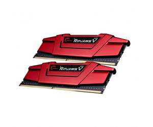G.SKILL 8GB 2400MHz RipjawsV Red CL15 (2x4096) @x kom