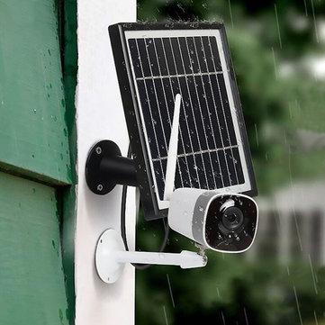 Xiaovv DC05F HD 1080P kamera zasilana panelem solarnym