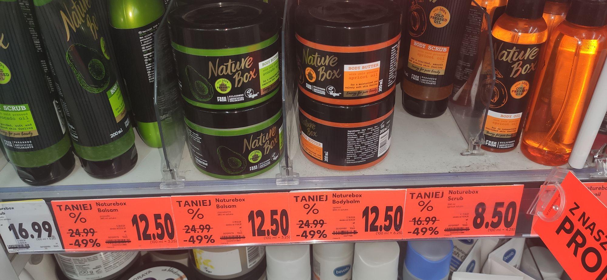 Masło, Balsam do ciała Nature Box KAUFLAND