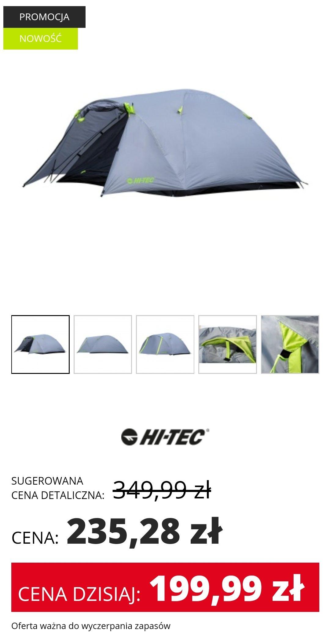Namiot Hi-Tec Solarproof 4 czteroosobowy