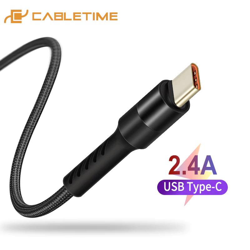 CABLETIME kabel USB typ C 1m