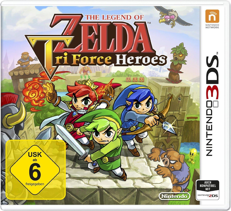 The Legend of Zelda: TriForce Heroes (3DS) za ok. 82zł @ Amazon.de