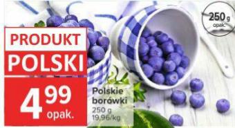 Polskie borówki 250g Carrefour