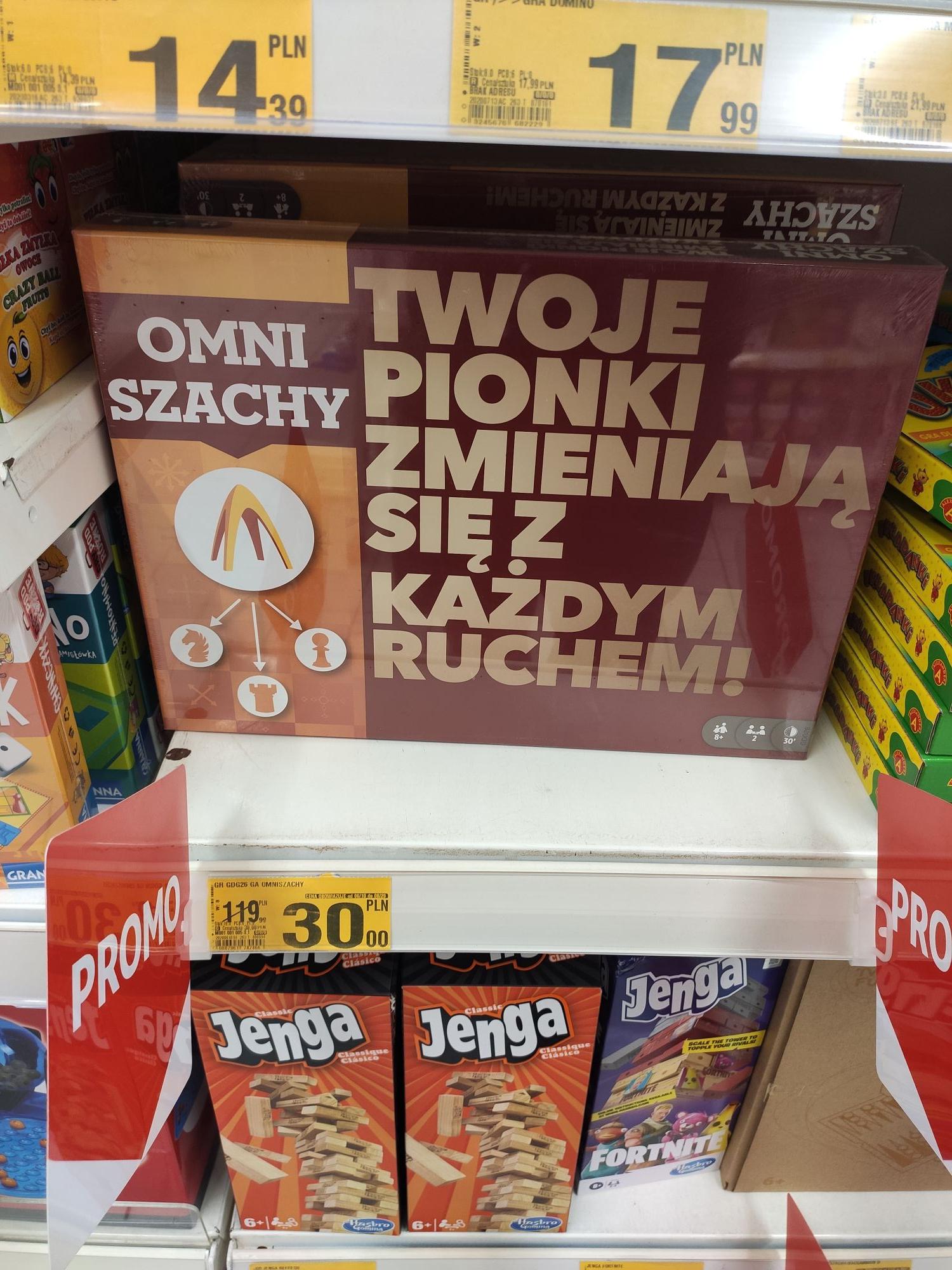 Omniszachy w dobrej cenie w Auchan