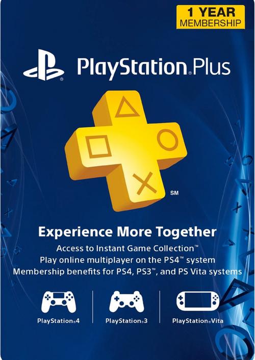 PlayStation Plus (USA) 365 dni