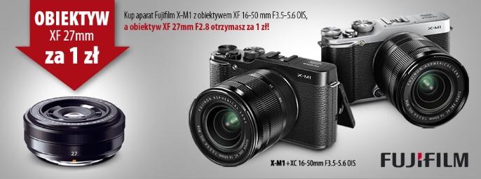 Przy zakupie zestawu, obiektyw Fujinon XF 27 mm za 1 zł @ FUJIFILM