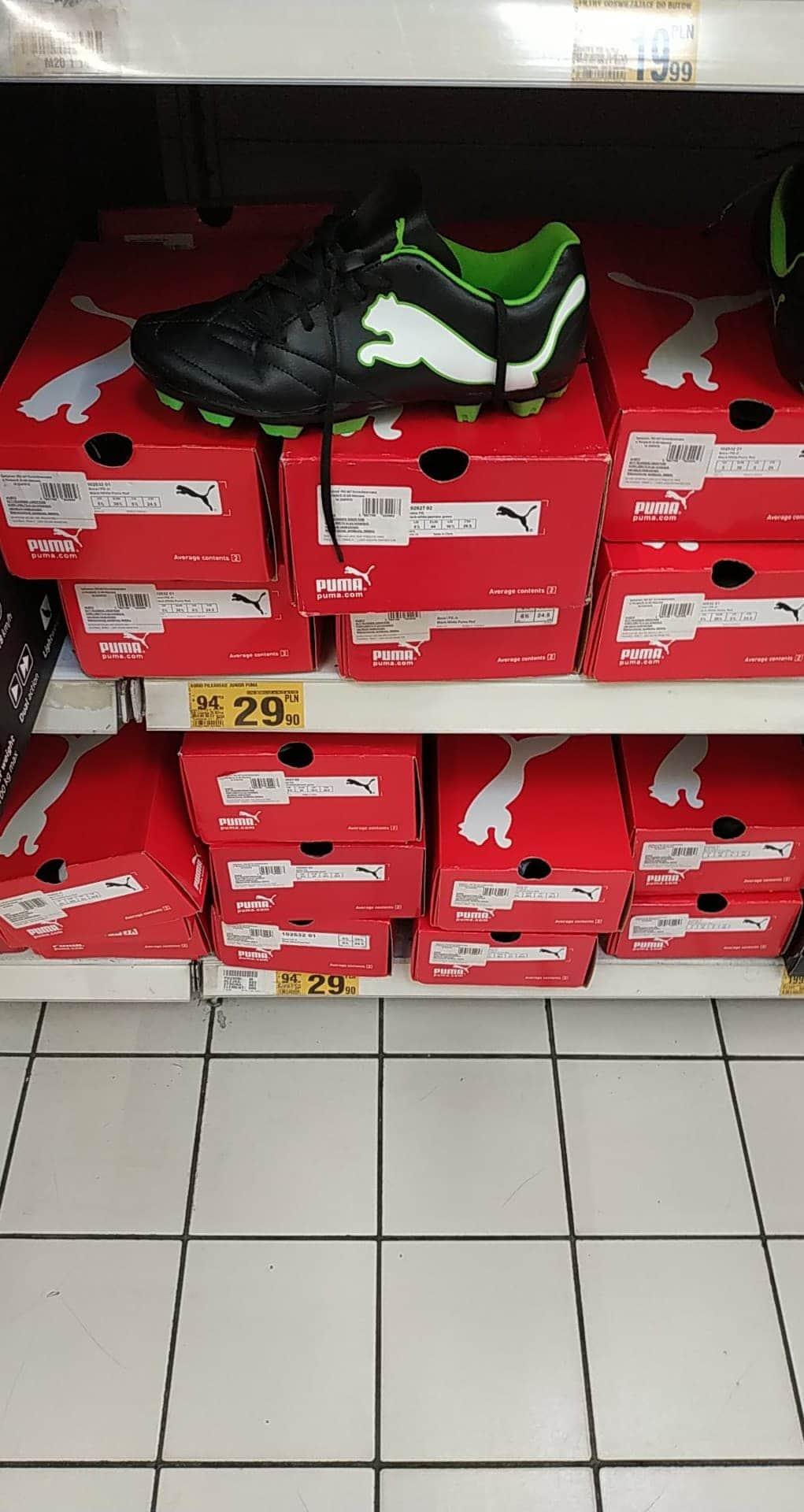 Buty piłkarskie Puma Auchan Katowice