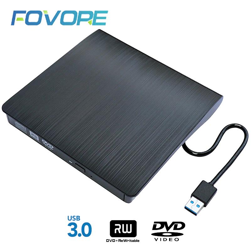 Nagrywarka zewnętrzna DVD-RW (USB 3.0)