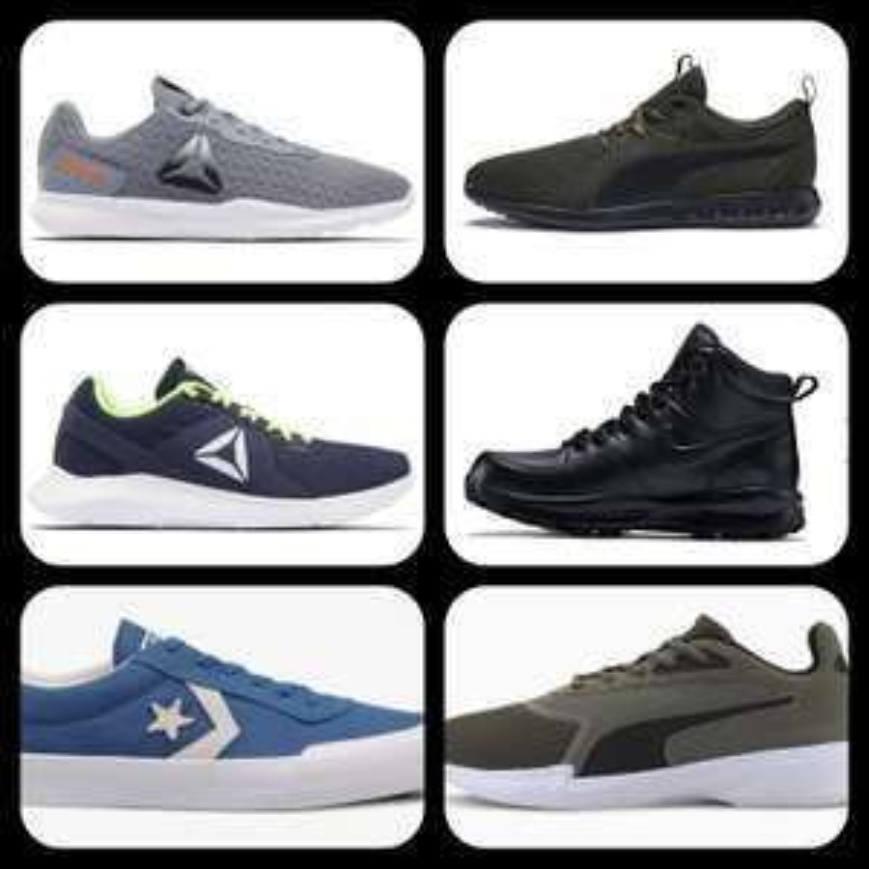 KOMPILACJA: Buty męskie: Puma, Adidas, Nike, Reebok, Converse