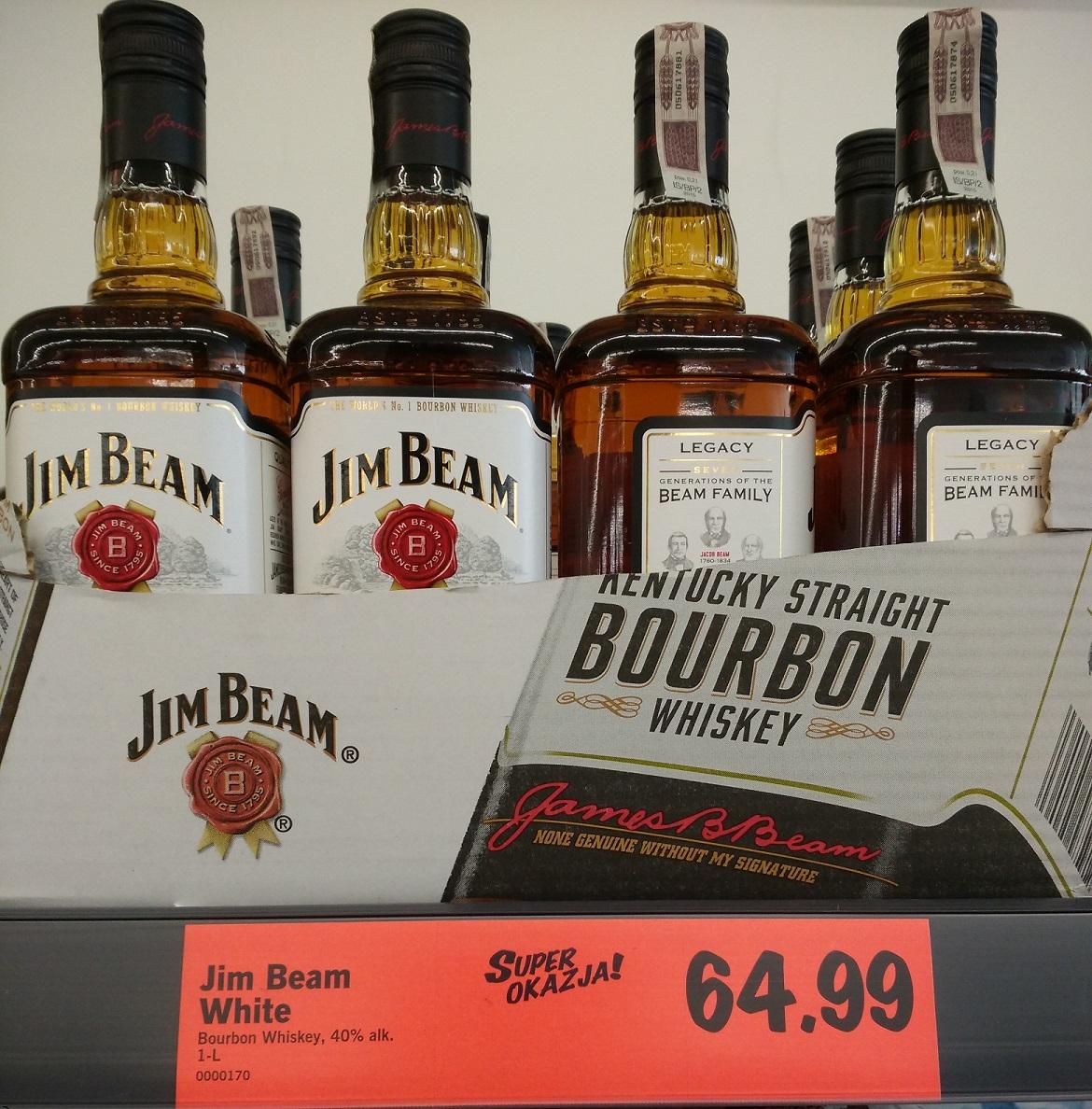 Jim Beam White 1 litr w Lidl