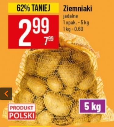Ziemniaki 5 kg (0,60 zł/kg) @Polomarket
