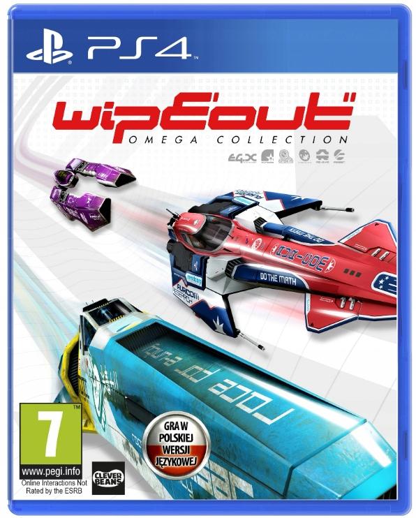Gra PS4 WipEout Omega Collection Polska wersja