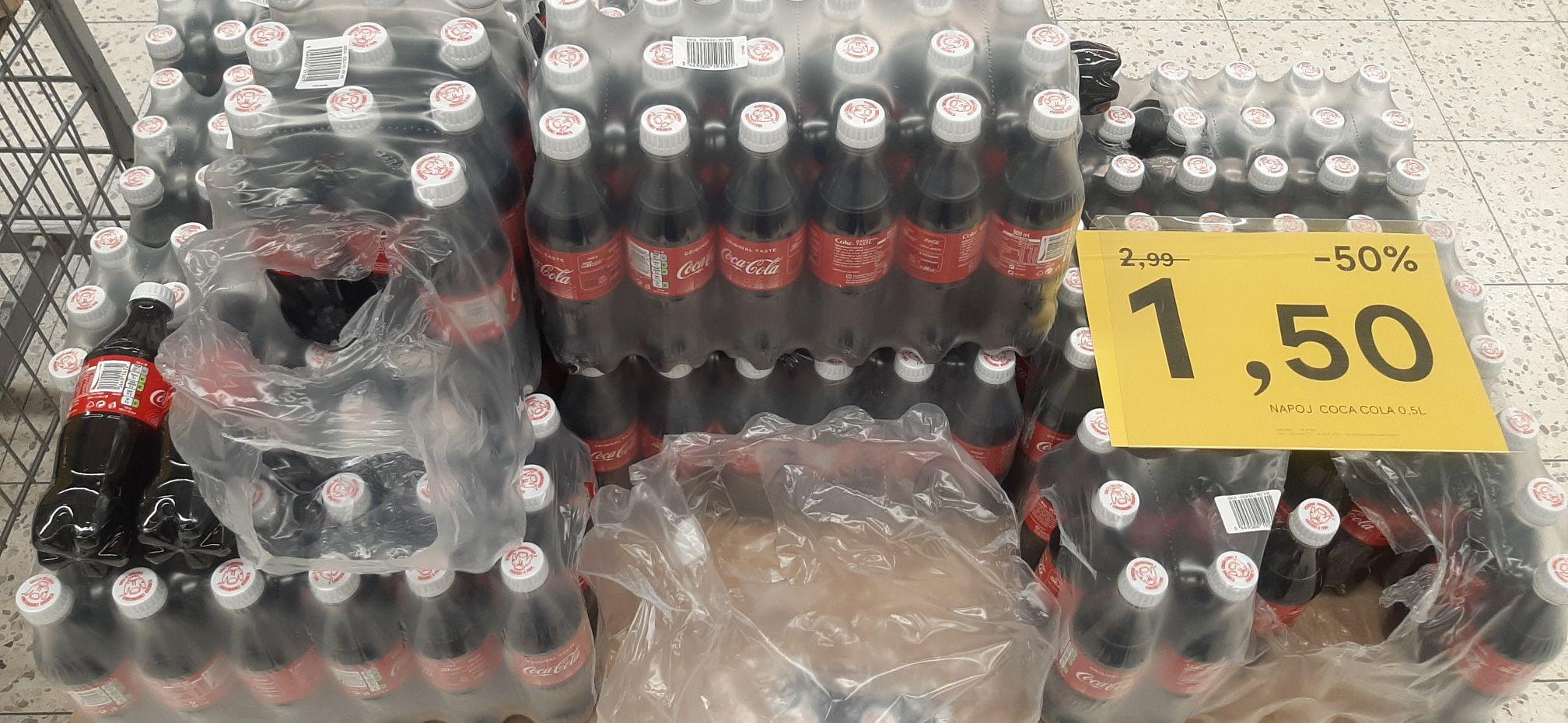 Coca- Cola Regular 0.5l / Tesco