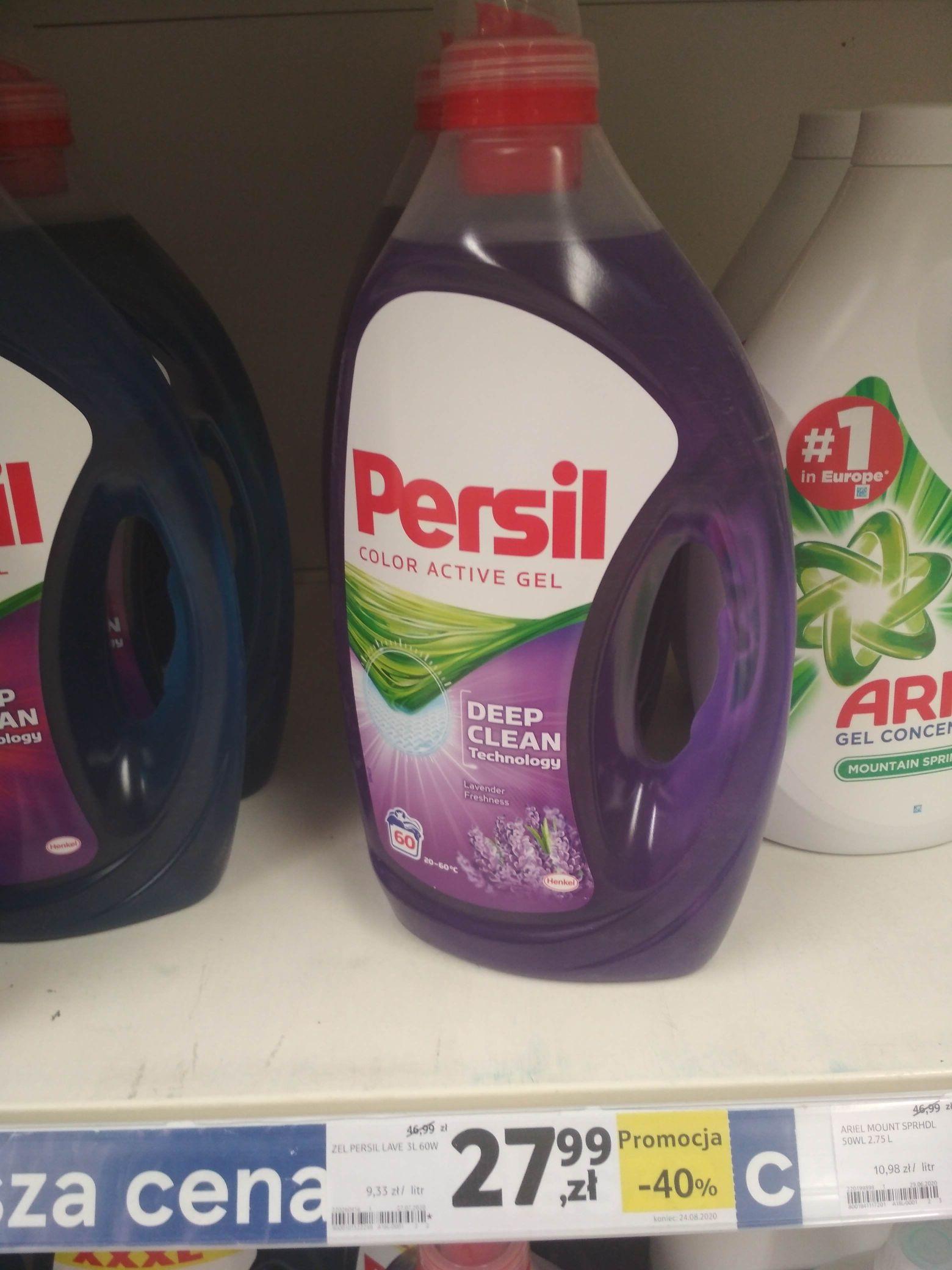Żel do prania Persil Color Active Gel 60 pran, 3L