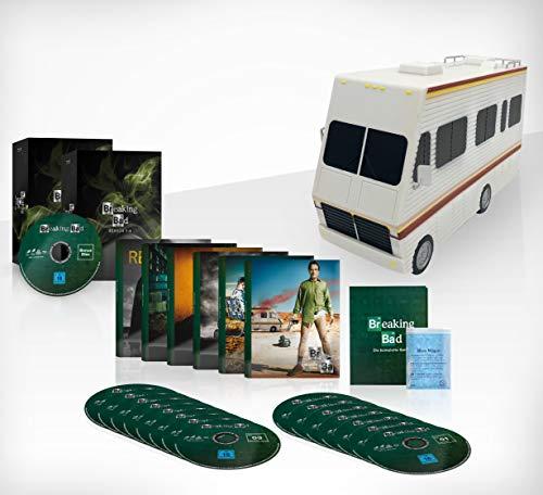 Breaking Bad na Blu-ray DE (brak ver. PL) - Die komplette Serie 57,98 Euro z Amazon.de