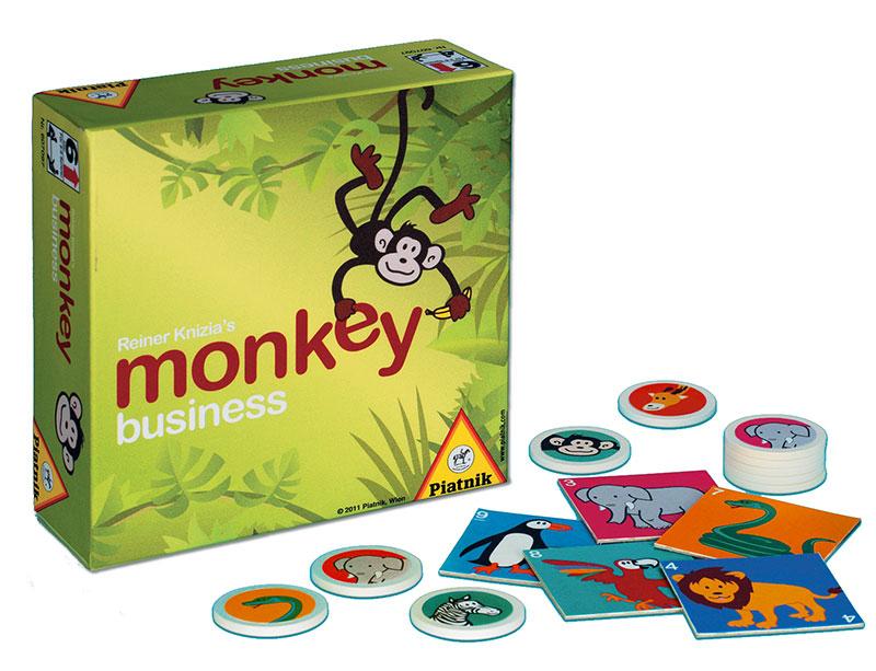 Gra planszowa (strategiczna) Monkey Business