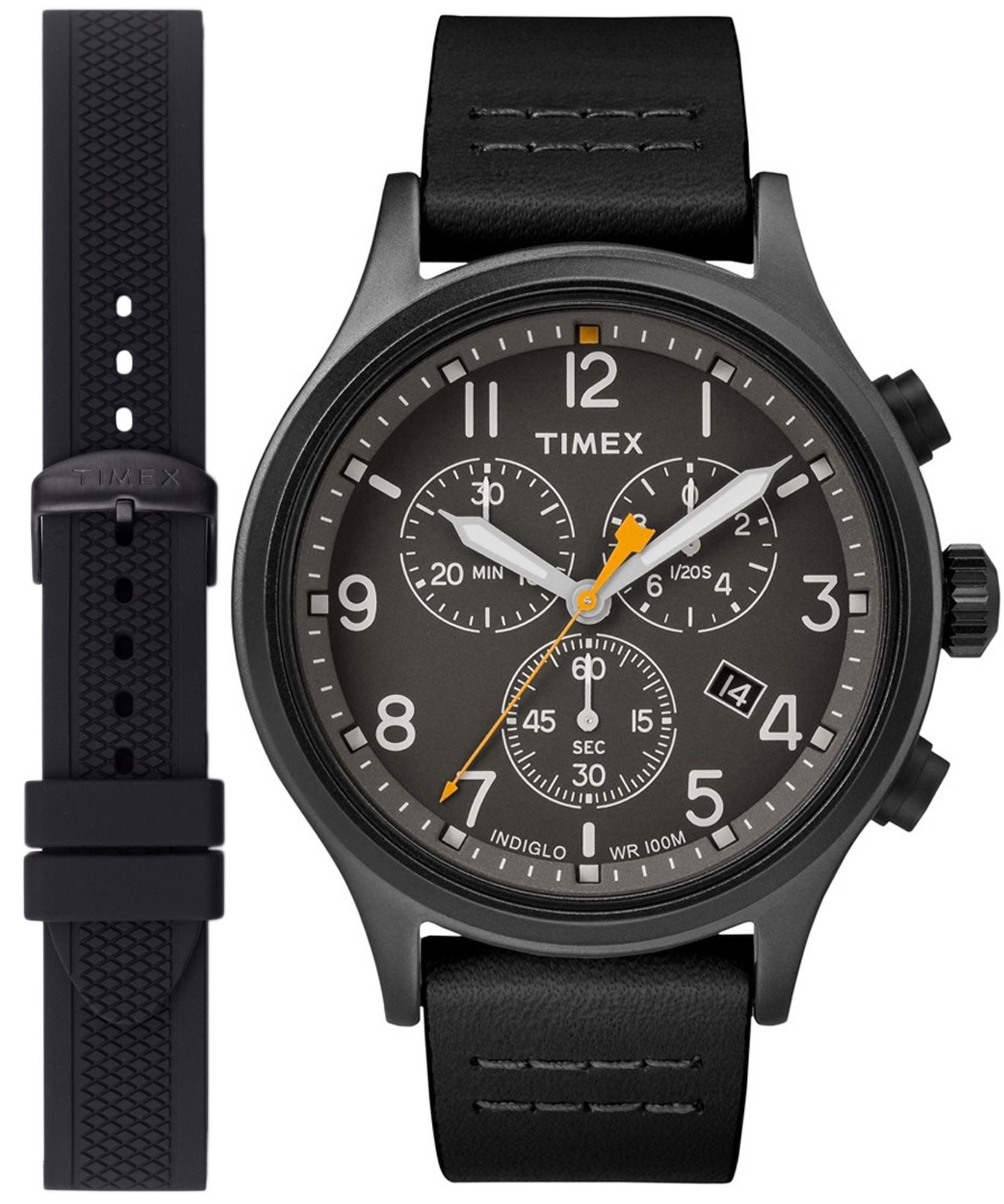 Zegarek męski TIMEX TW2R47500-1 (gratis dodatkowy pasek) @Zegarownia